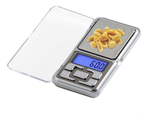 Mini Balança Digital De Bolso E Alta Precisão 0,1g Até 500g