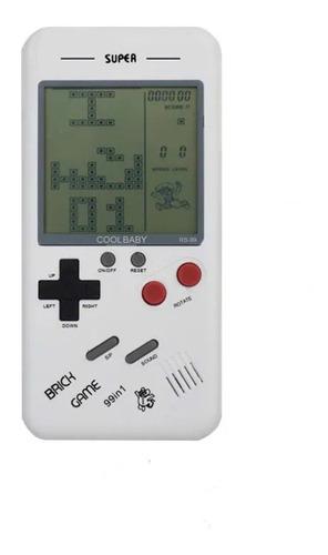 Mini Game Tetris Brick Game Rs-99 Novo Modelo 99 Jogos