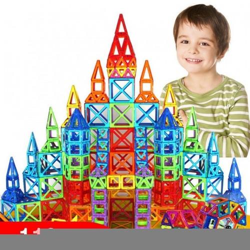 Blocos De Construção Magnéticos Crianças Puzzle