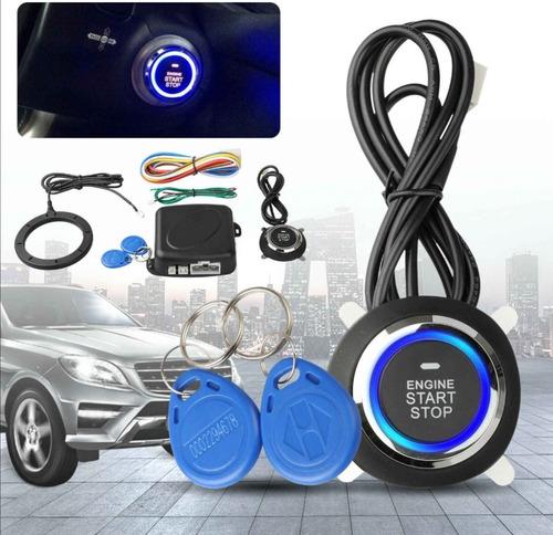 Botón Start Encendido De Carro Con Proteccion Por Proximidad