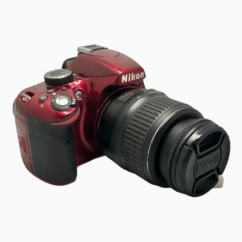 Câmera Nikon D3200 C Lente 18:55 Mm Seminova 8250 Cliques