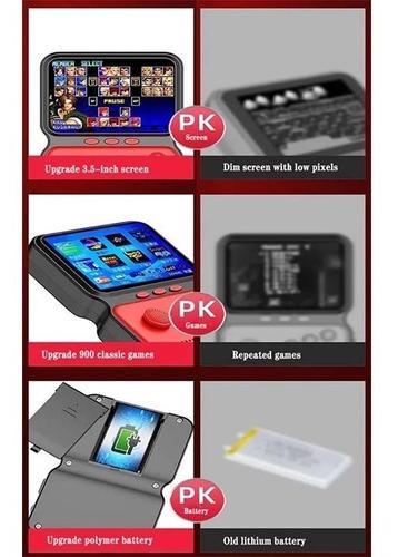 Gamebox Sup 900 Juegos Retro Mini Consola Portátil M9 - Ecart
