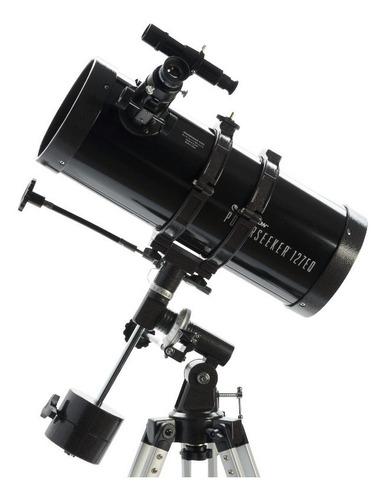 Telescópio Refletor Newtoniano Powerseeker 127eq Celestron Com Montagem Equatorial Germânica E Barlow De 3x Original