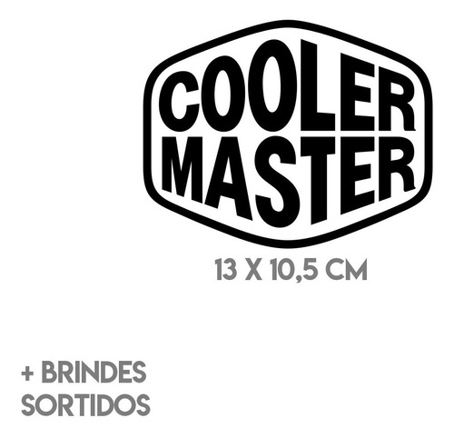 Kit 2 Adesivos Cooler Master Geek Premium Rgv