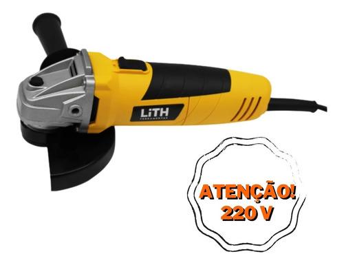 Esmerilhadeira Angular 5  600w 220v Lith 12000rpm Nova Nf-e