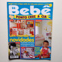 Revista Bebê Ponto Cruz E Cia Enxoval Roupas Decoração B800