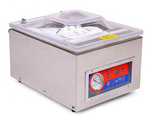 Seladora Industrial A Vácuo De Câmara 1 Barra 26cm Dz260c