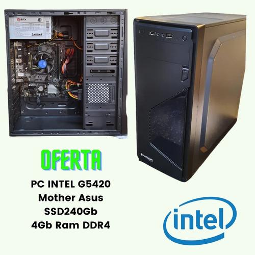 Pc Intel Core G5420 Ssd240gb 4gb Mother Asus H310m-e