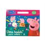 Livro Para Colorir Peppa Pig Maleta Gde Infantil Para Pintar