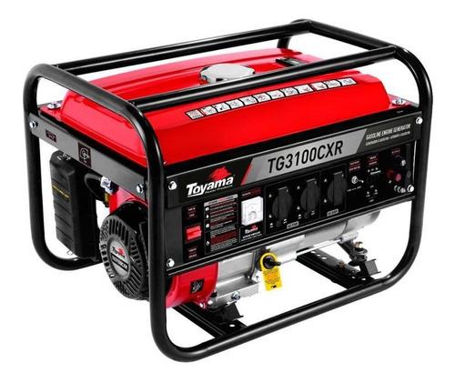 Gerador De Energia Gasolina 3,1 Kva Bivolt Tg3100cxr Toyama