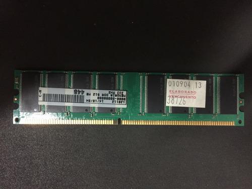 1,5 Gb En Memorias Ram Ddr1- (2 X 512 Mb Y 2 X 256 Mb)