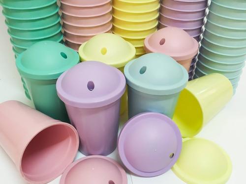 Vasos Plásticos Milkshake (15 Unid)