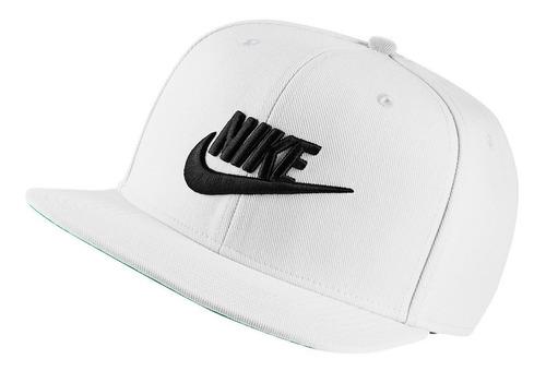 Bone Nike Aba Reta Preto Original Pro Futura Snapback