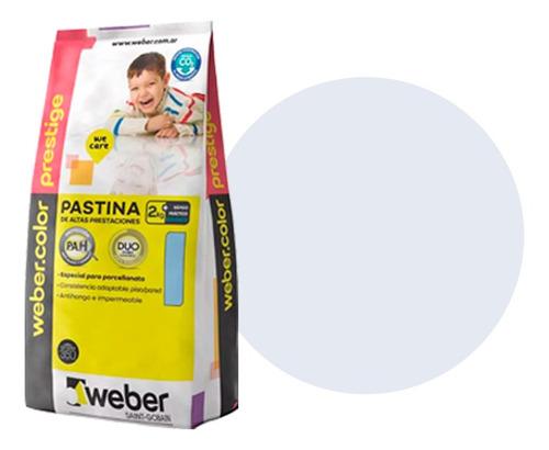 Pastina Weber Prestige Gris Perla 2kgs