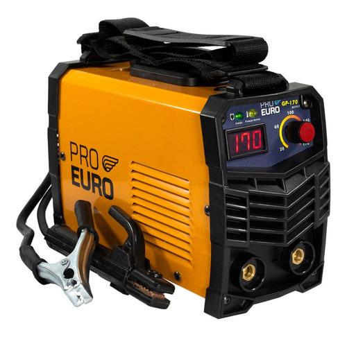 Máquina Solda Inversora Pró Euro Gp 170a (110v/220v)