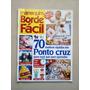 Revista Manequim Borde Fácil 1 Ponto Cruz Bordado D539