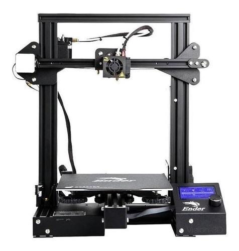 Impresora Creality 3d Ender-3 Pro Color Negro 100v/265v Con Tecnología De Impresión Fdm