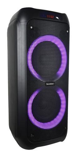 Caixa Amplificada Ativ Bluetooth Usb Mic Resistente Som 120w