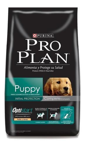 Alimento Pro Plan Complete Puppy Para Perro Cachorro De Raza Mediana Sabor Pollo Y Arroz En Bolsa De 18kg