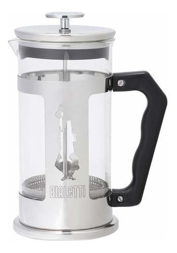 Cafetera Bialetti Preziosa 8 Cups Plata Prensa Francesa