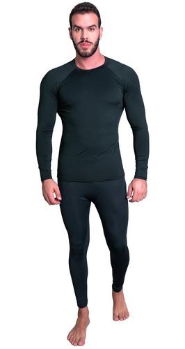 Conjunto Calça E Blusa Térmica Inverno Uv Segunda Pele
