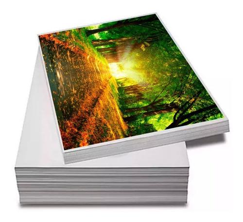 Papel Fotográfico Adesivo A4 Glossy 80g 100 Folhas Premium