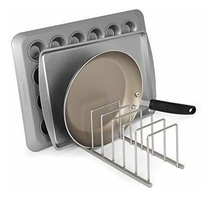Satin Nickel Kitchen Organizer - Ecart