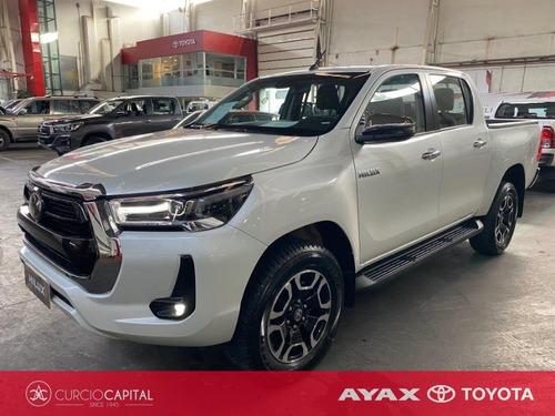 Toyota Hilux Plus Tss 2021 Blanco 0km
