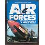Livro Air Forces Of World War 1 & 2 Usado Antigo Militar