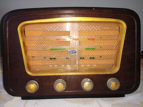 Rádio Semp Pt 76 Capelinha (relíquia/herança Familiar)