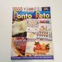 Revista Coleção Arte Fácil Ponto Reto Toalha De Banho B072