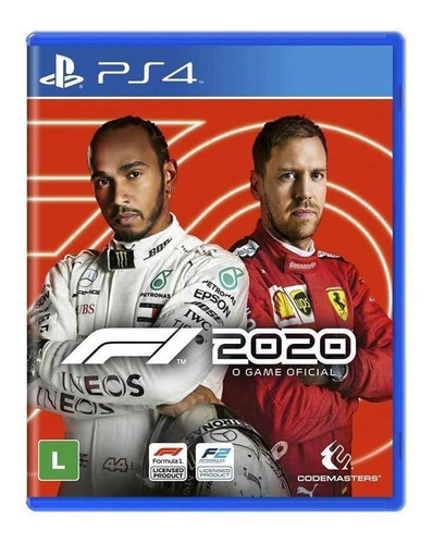 F1 2020 Standard Edition Físico Ps4 Codemasters
