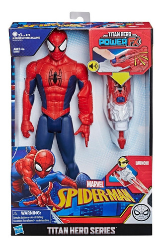 Marvel  Spider-man Titan Hero Power Fx - Envio Full (3100)