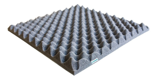 10 Panel Acústico Placa Acústica 50x50x3cm Ultrasonic/antiso