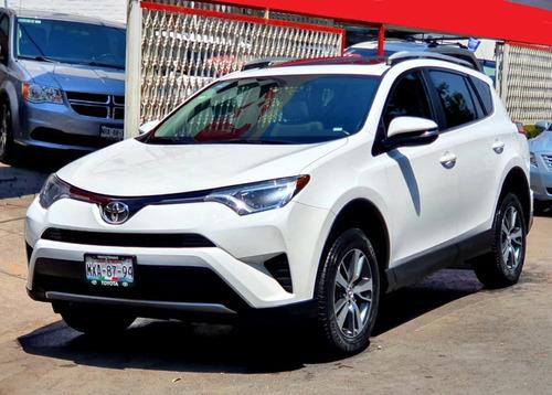Toyota Rav4 2016 Xle Tela  Factura De Agencia  Unica Dueña!!