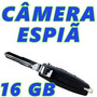 Micro Camera Para Veiculos Video Espia Full Hd Mini 16gb