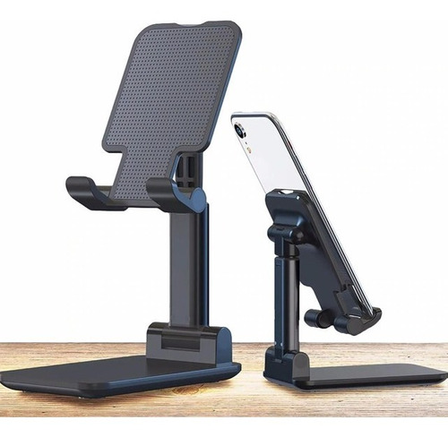 Suporte Ergonômico Portátil Celular E Tablet Ajustável Mesa