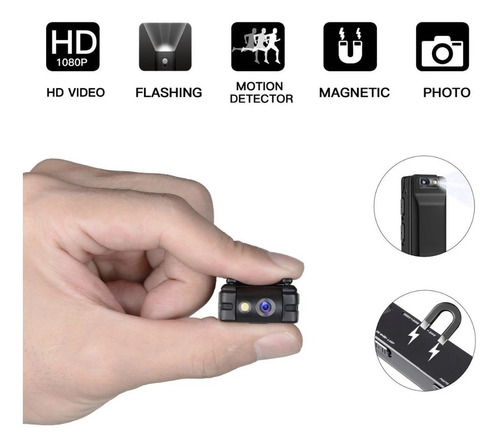 1080p Hd A3 Mini Câmera Digital