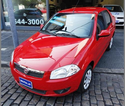 Fiat Siena El Pack 1.4  Nafta 2016 Rojo Km 35000 Nuevo !!!