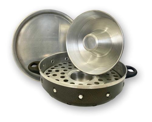 Churrasqueira Vigorosa Fogão 3 Em 1 Craqueada Nº 30 Alumínio