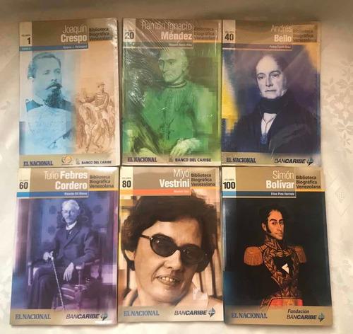 Colección Completa De La Biblioteca Biográfica Venezolana