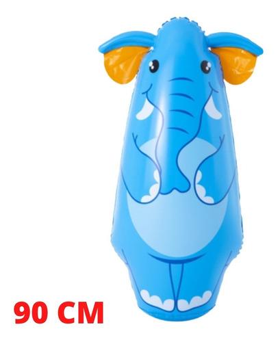 Boneco Teimoso 3d Inflavel Animais Joao Bobo 90cm Brinquedo