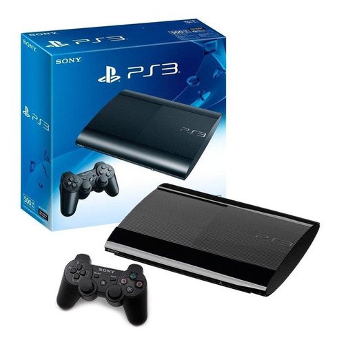 Console Playstation 3 Super Slim 500gb