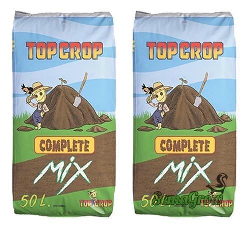 2 Bolsas Sustrato Cultivo Indoor Top Crop Complete Mix 50l