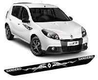 Protetor Soleira T2 Porta Carro Renault Sandero Tuning Top