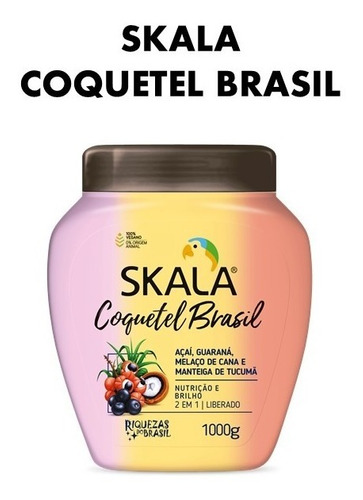 Skala Coquetel Brasil-formula Vegana