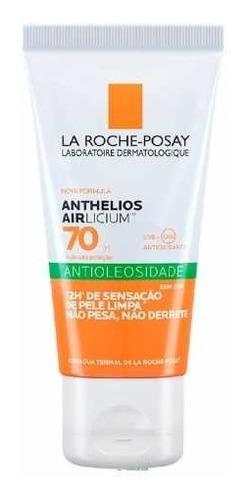 Protetor Anthelios Airlicium Fps70 50g Antioleosidade