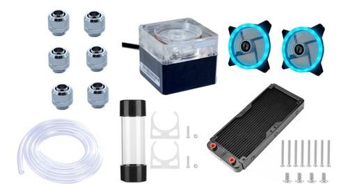 Water Cooler Custom Kit Completo Para Placa De Vídeo Ou Cpu