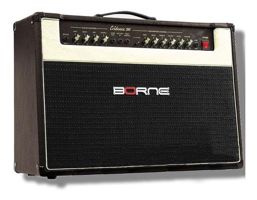 Amplificador Borne Evidence 200 Para Guitarra De 150w Cor Marrom/dourado 110v/220v