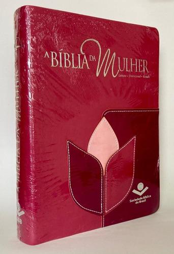 Bíblia Feminina De Estudo Da Mulher Almeida Corrigida Rc